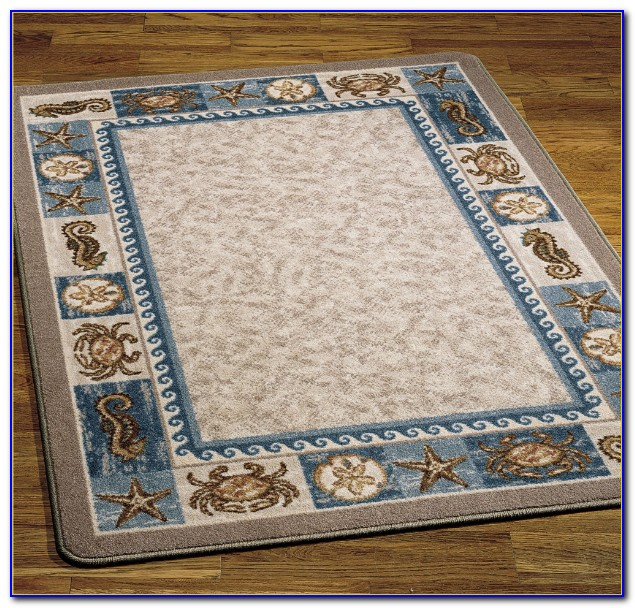 Beach Themed Rugs Runner