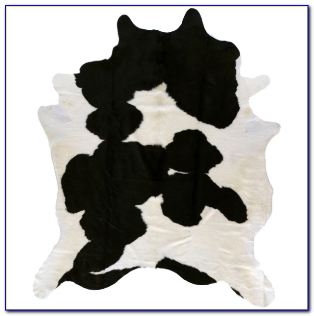 Black And White Cowhide Rug Living Room