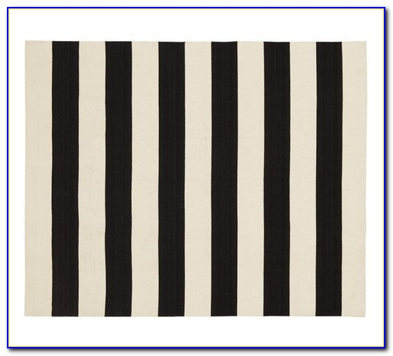 Black And White Striped Rug Target
