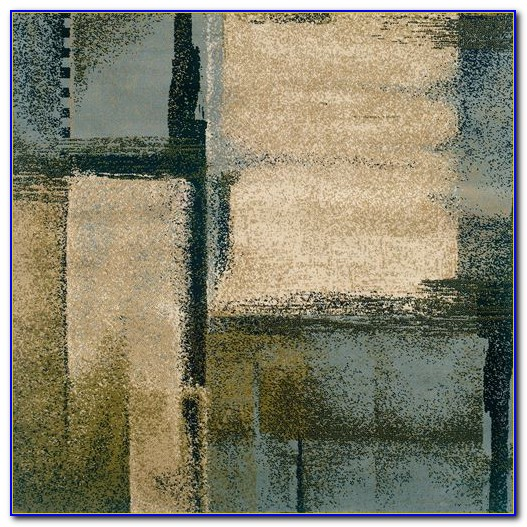 Bright Abstract Area Rugs