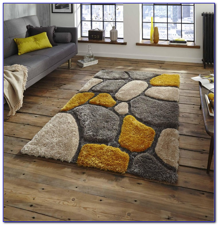 Bright Yellow Rug Runner