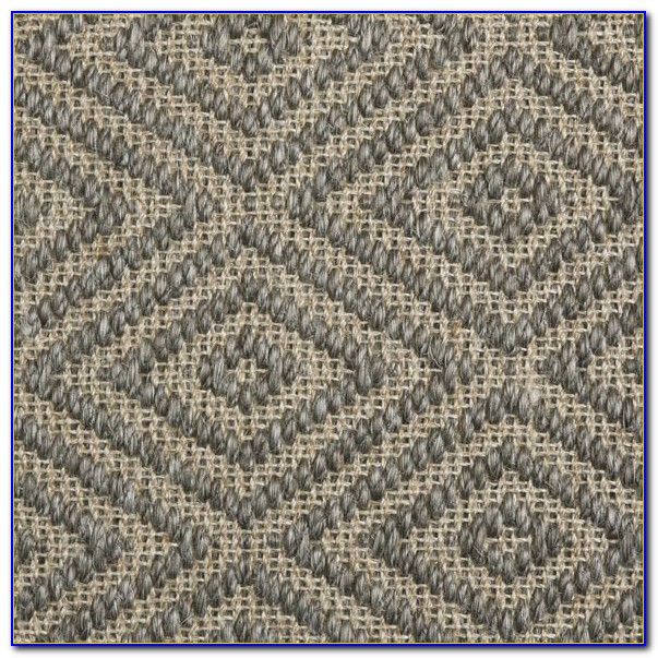 Custom Diamond Sisal Rug