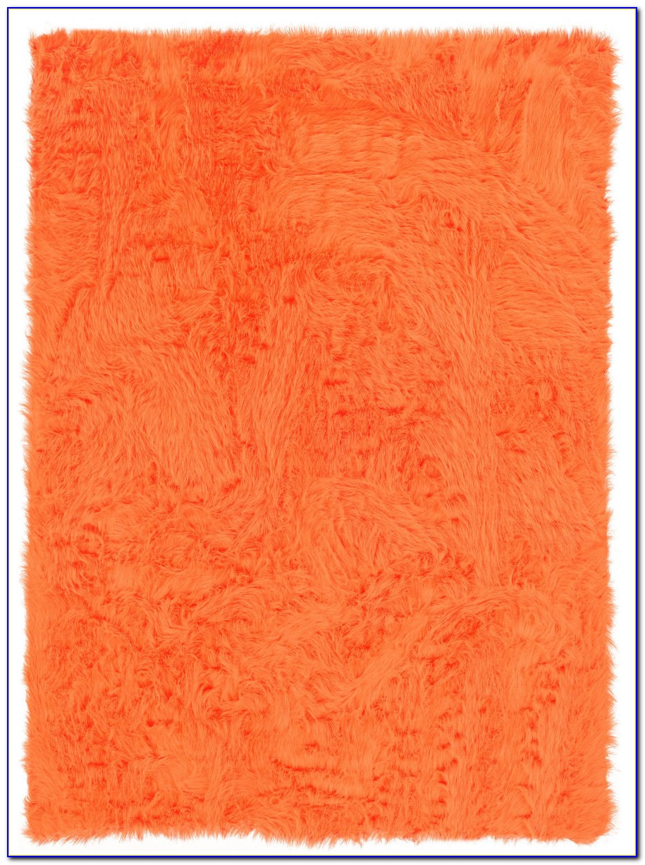 Faux Sheepskin Area Rug 8x10