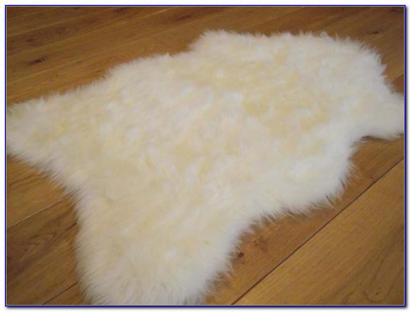 Faux Sheepskin Rug 8x10
