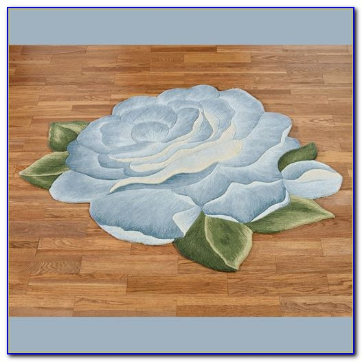 Flower Shaped Area Rugs