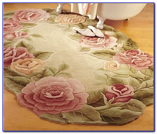 Flower Shaped Bath Rug