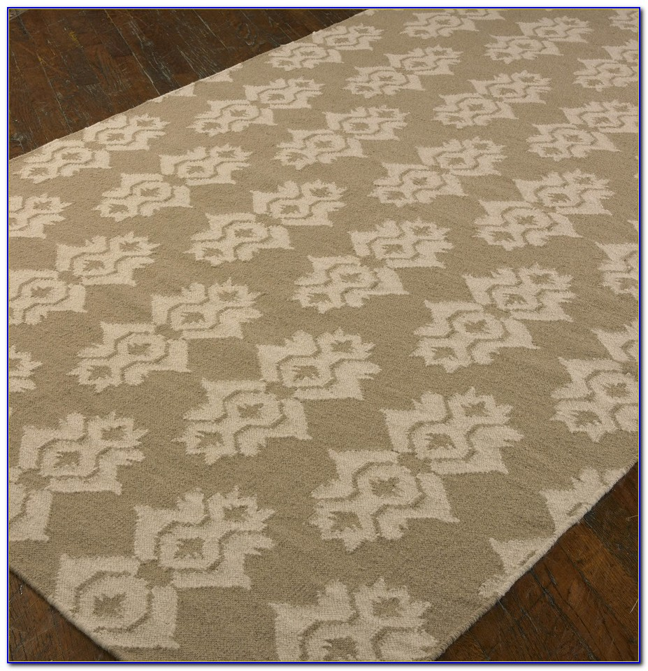 Green Trellis Area Rug