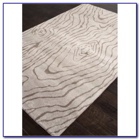 Grey Wood Grain Rug