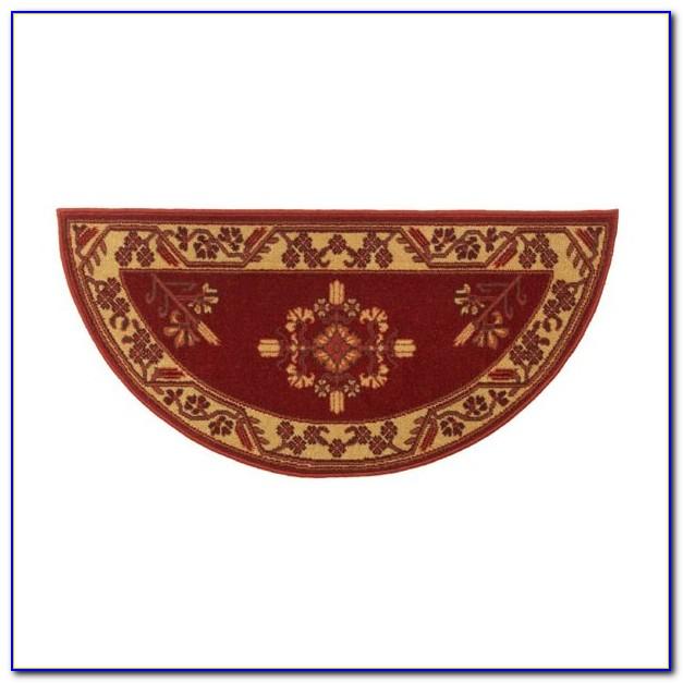 Half Circle Rug Crochet Pattern