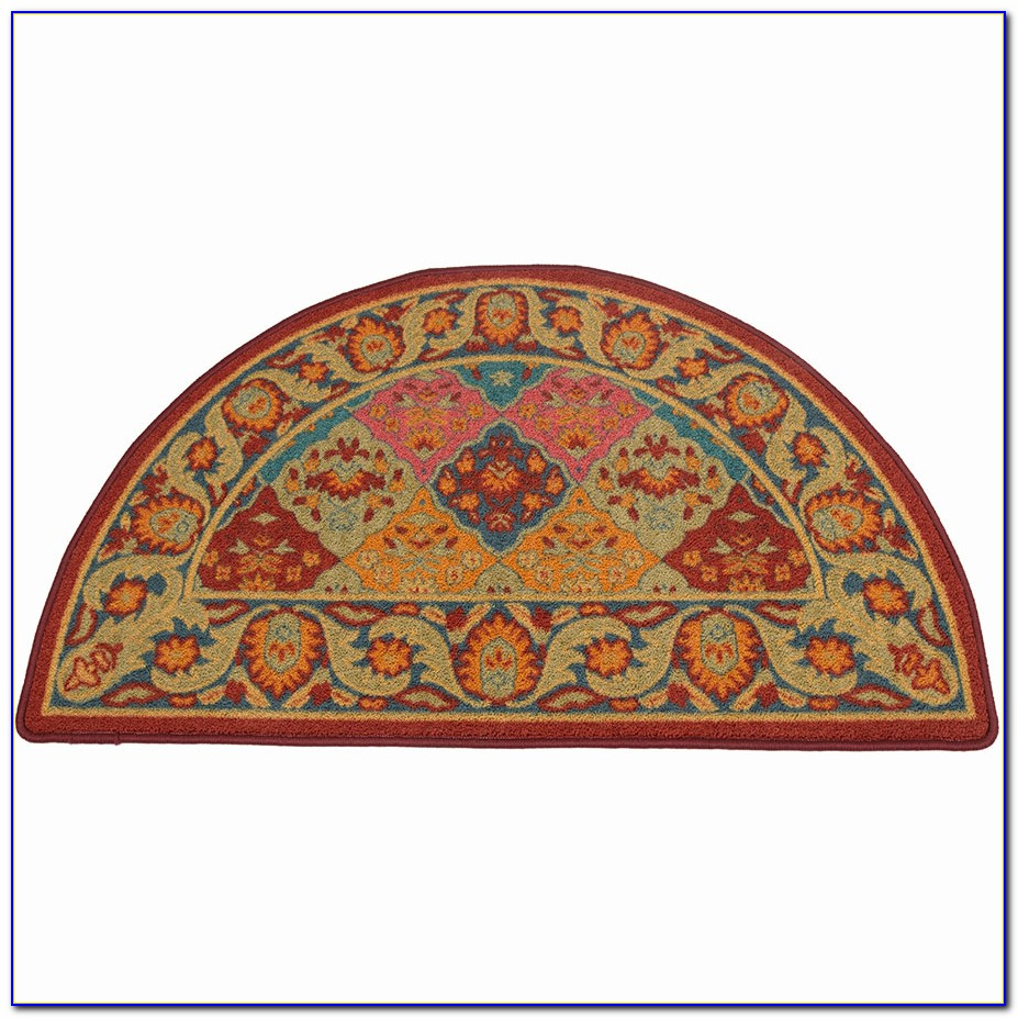 Half Circle Rugs For Kitchen