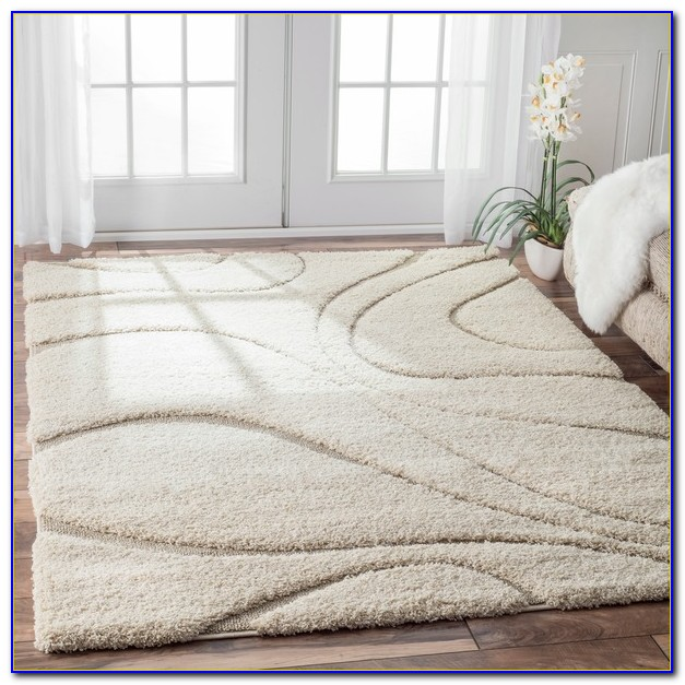Ivory Area Rug By Three Posts