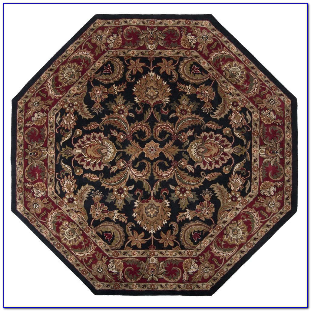 Large Octagon Area Rugs