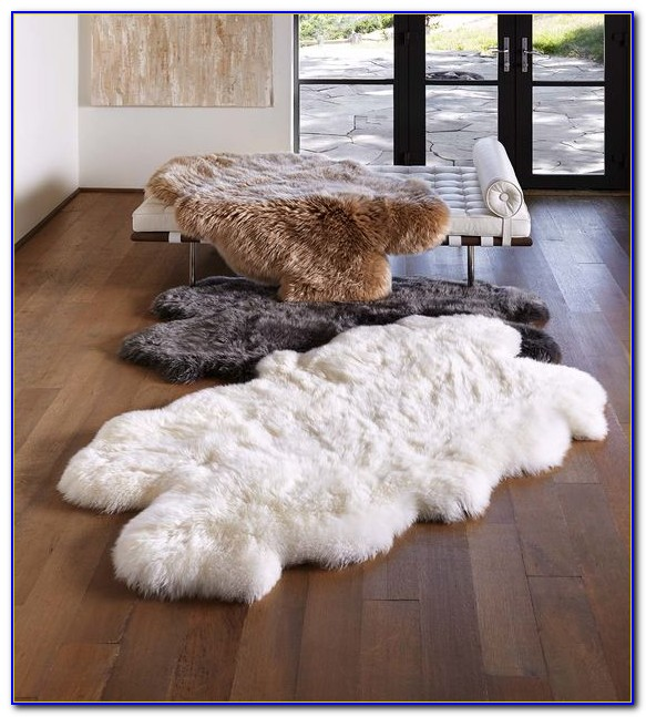 Large Sheepskin Area Rug