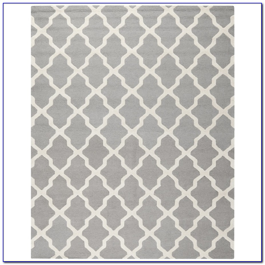 Light Gray Rug 8x10