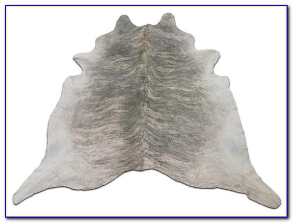 Light Grey Cowhide Rug