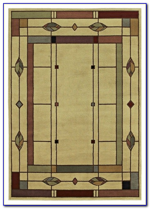 Mission Style Area Rugs