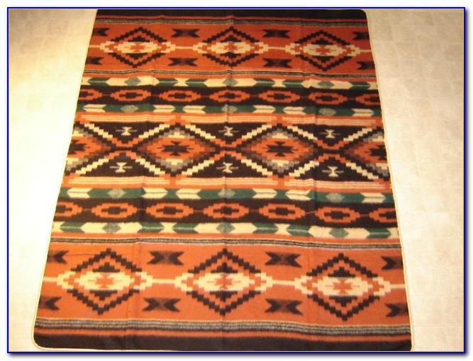 Navajo Style Blankets