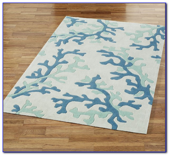 Ocean Themed Bath Rugs