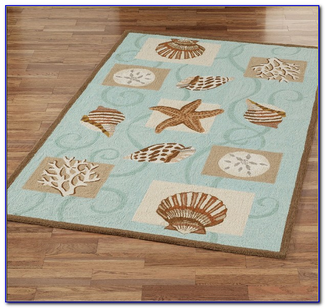 Ocean Themed Throw Rugs