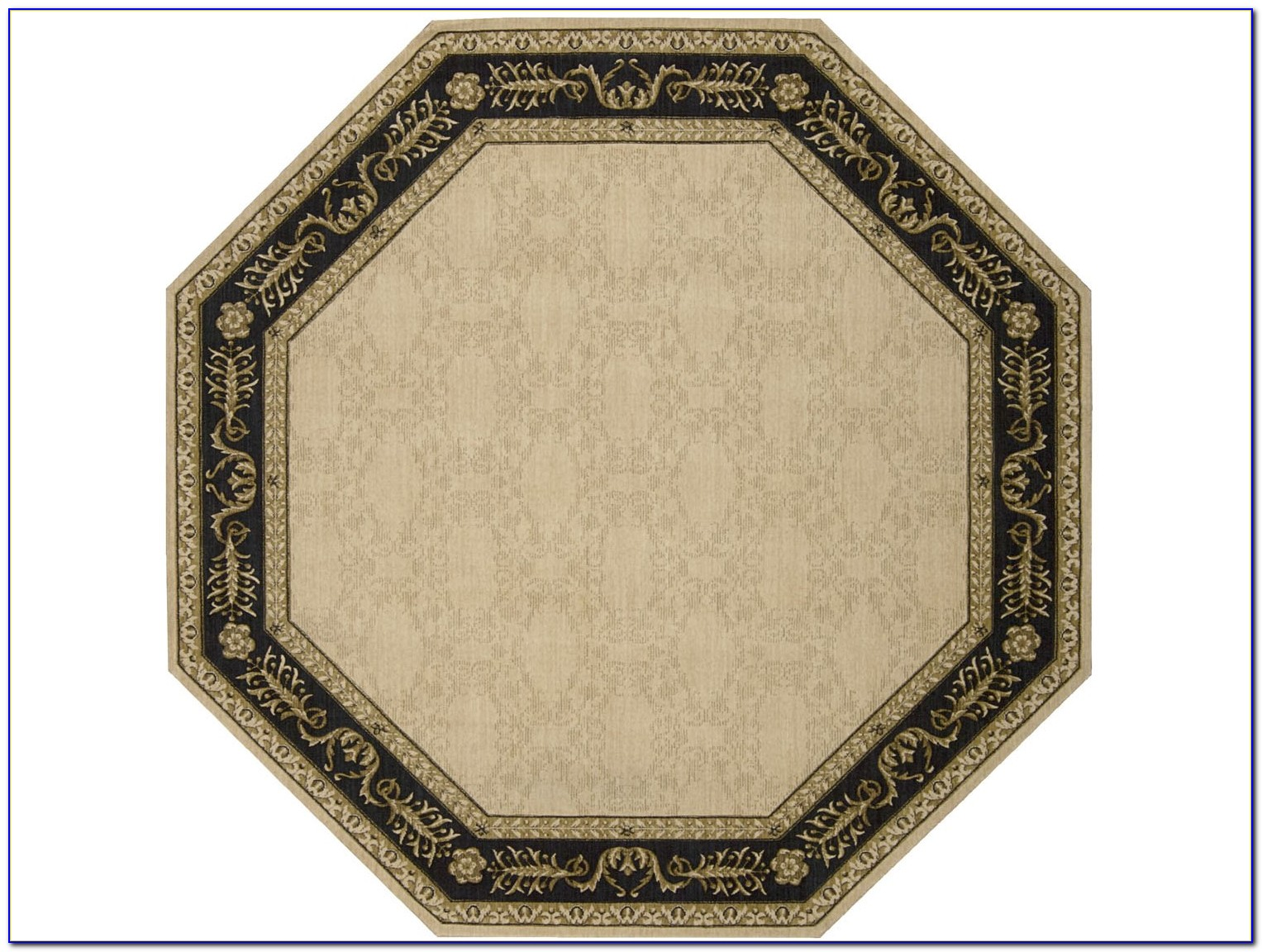Octagon Wool Area Rugs