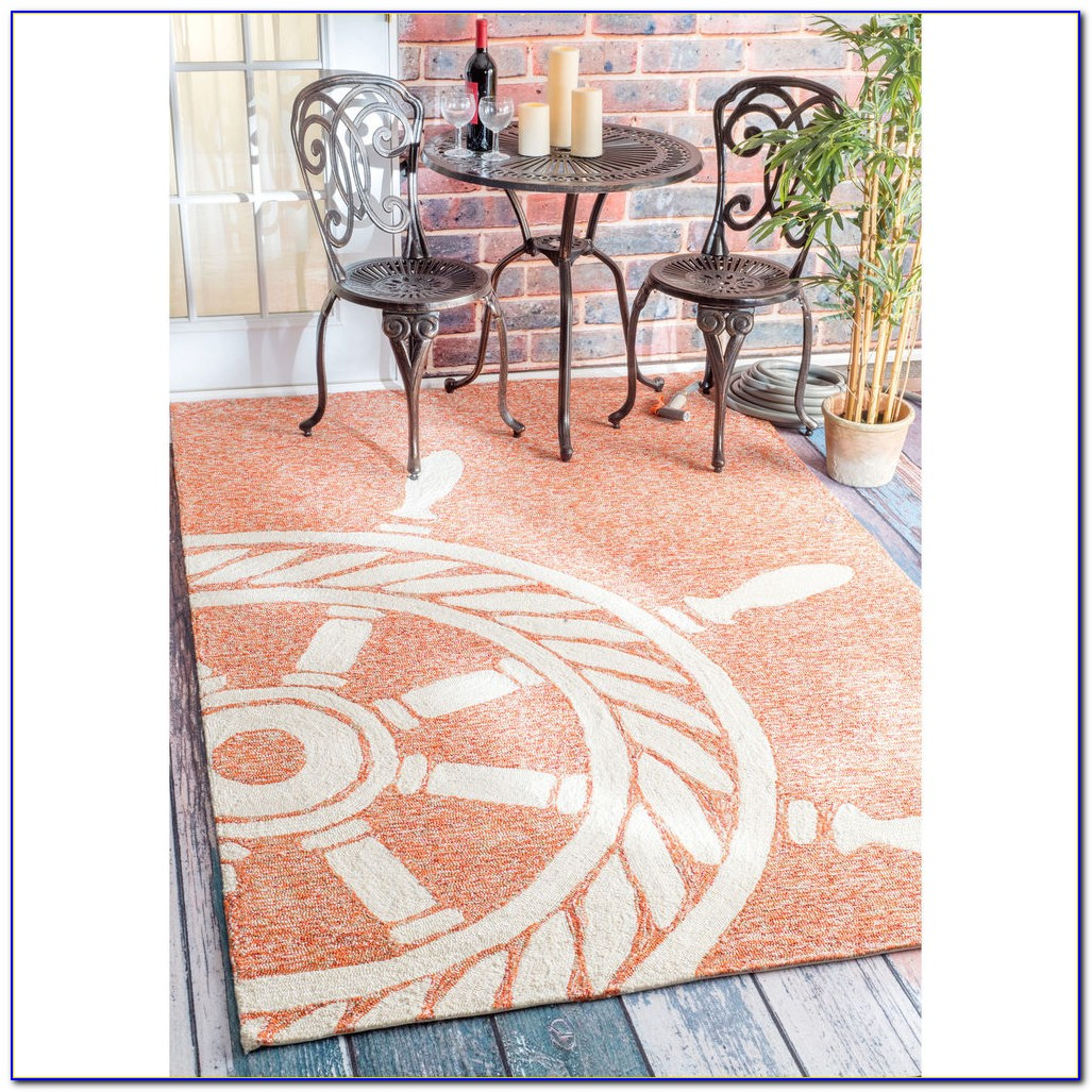 Outdoor Bamboo Rug 8x10