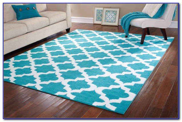 Outdoor Rugs 8x10 Blue