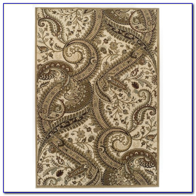 Paisley Design Area Rugs