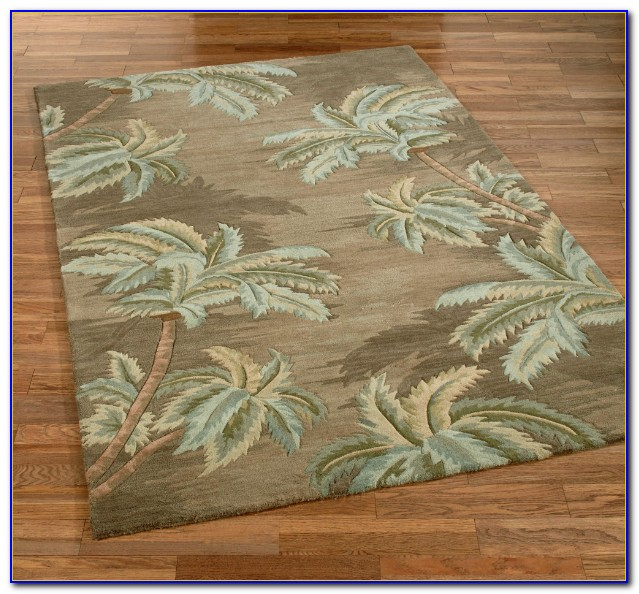 Palm Tree Outdoor Rugs
