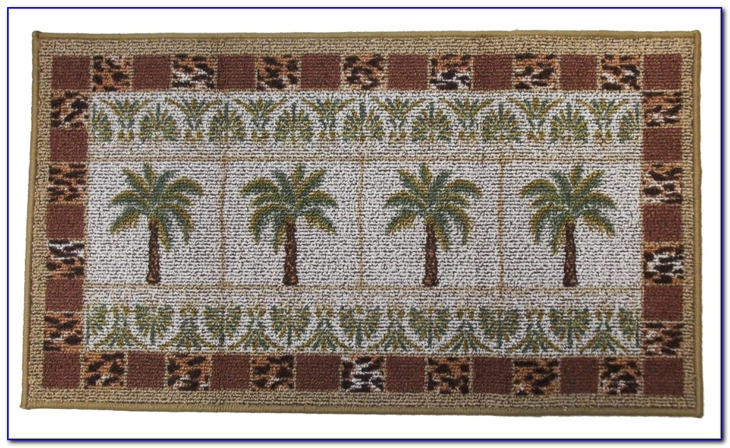 Palm Tree Rug Runner