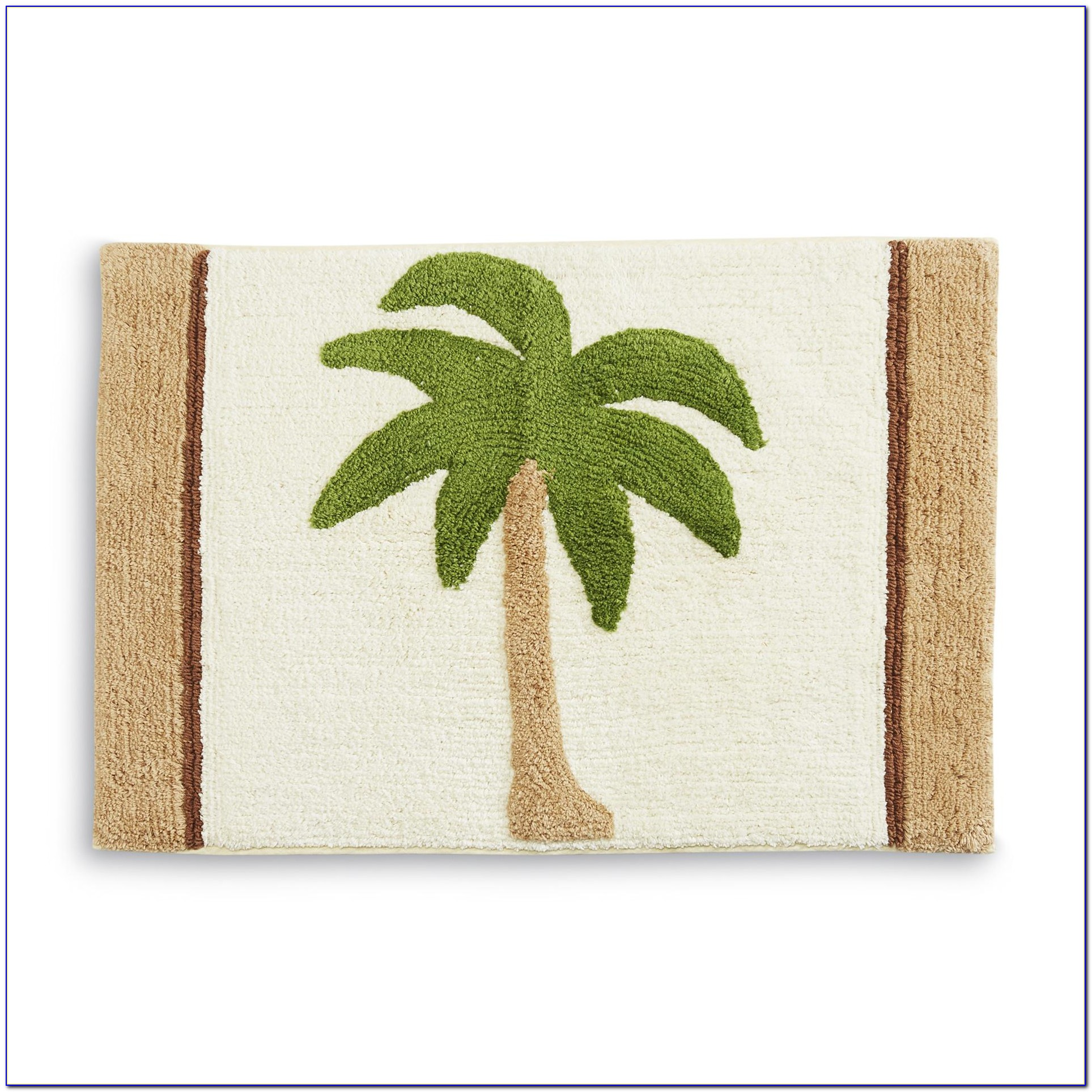 Palm Tree Rug Set