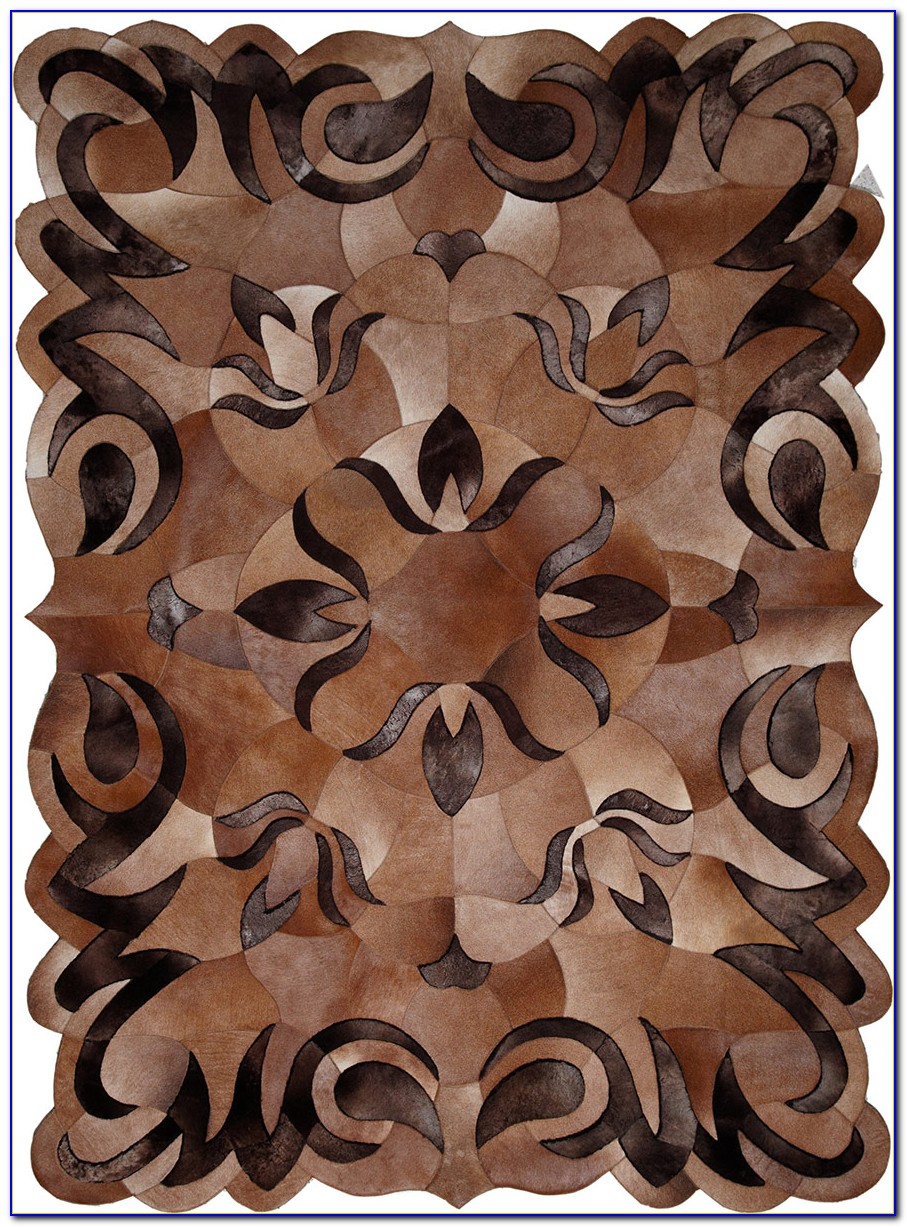 Patchwork Cowhide Area Rugs
