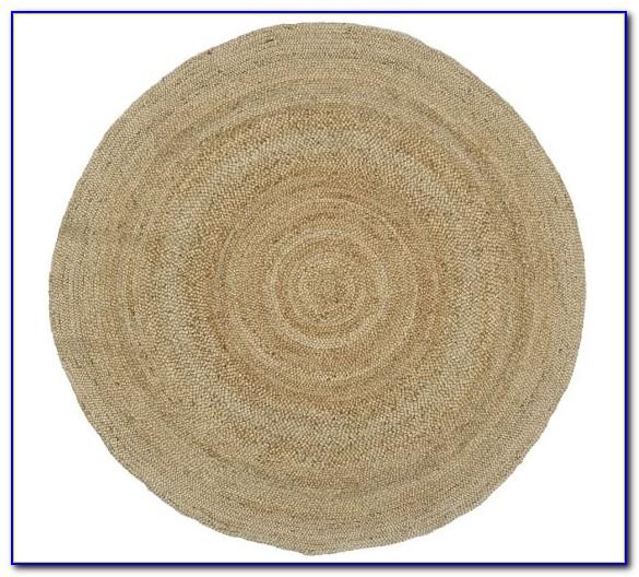 Pottery Barn Jute Rug Round