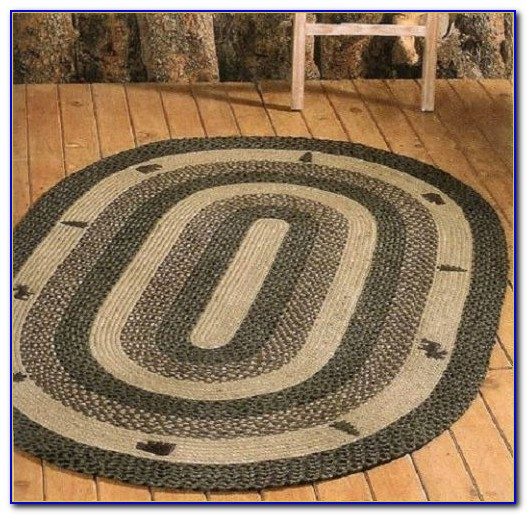 Round Cabin Area Rugs