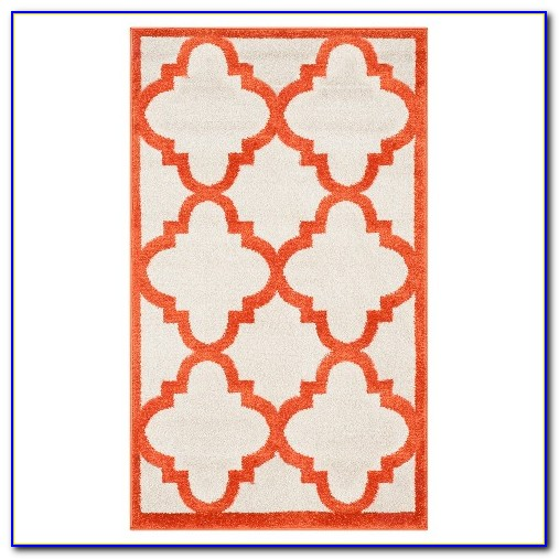 Safavieh Outdoor Rugs Red