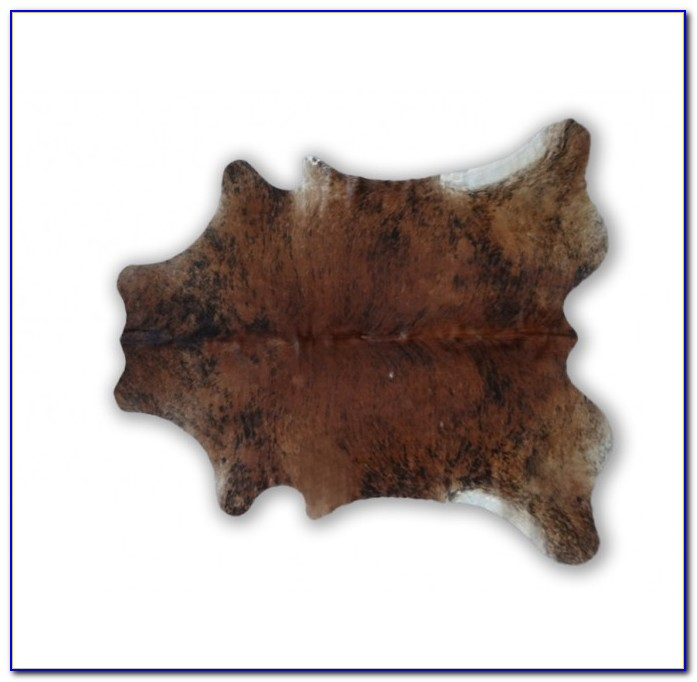 Small Faux Cowhide Rug