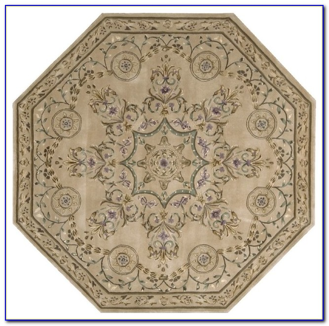 Small Octagon Area Rugs