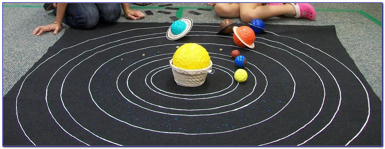 Solar System Floor Rug