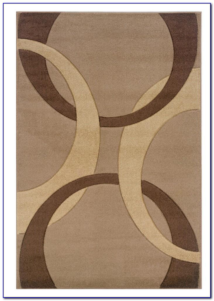 Tan Wool Area Rug