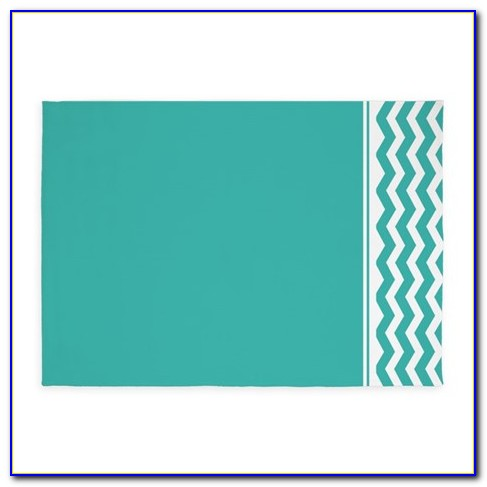 Target Turquoise Chevron Rug