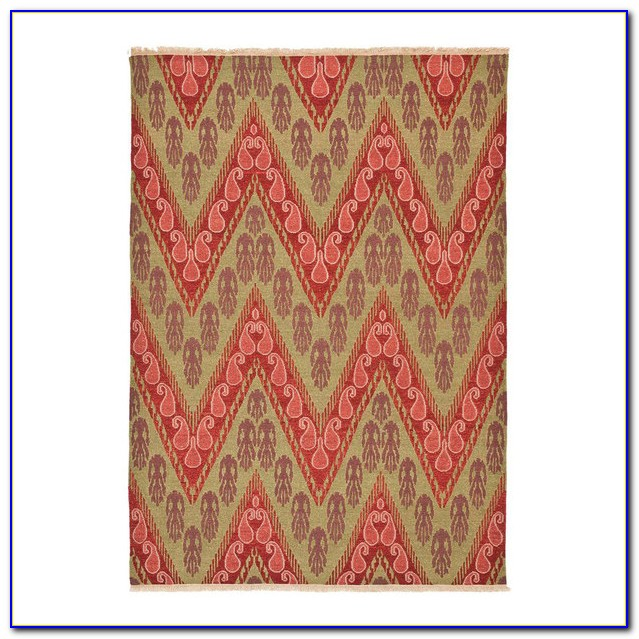 Urban Outfitters Zigzag Rug