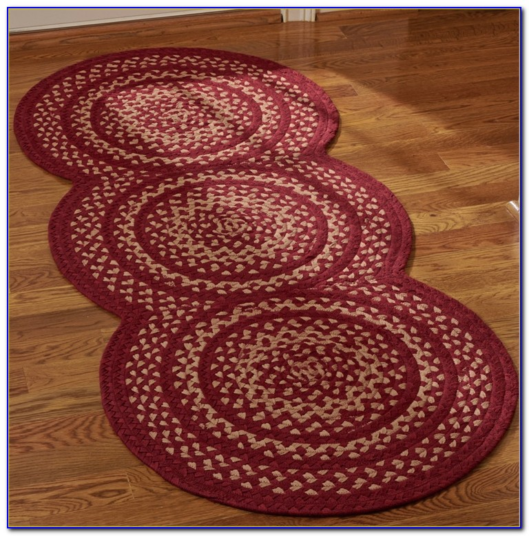 Washable Braided Rug Runners