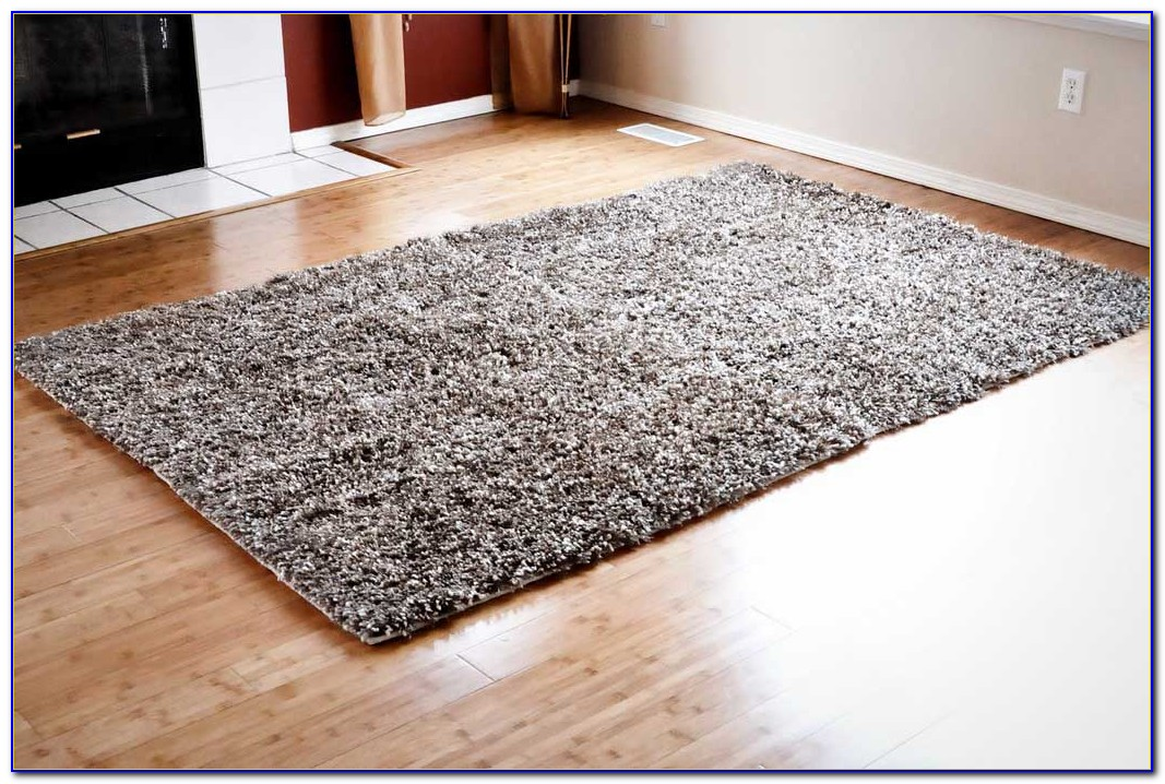 White Fur Area Rugs