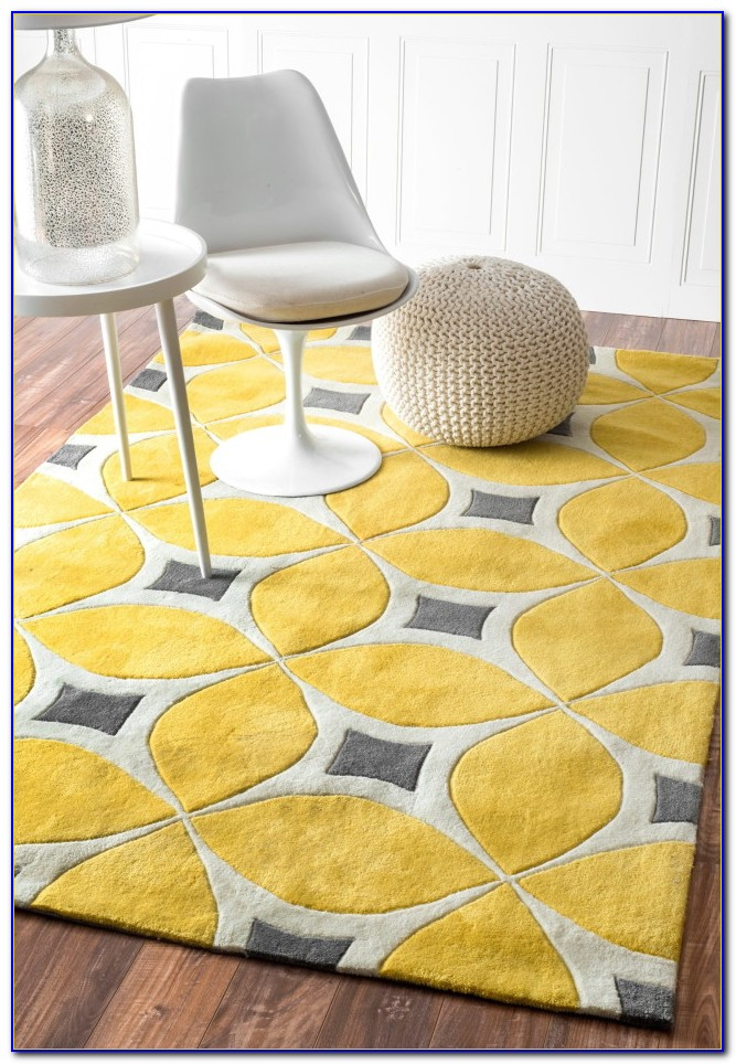 Yellow Kitchen Rug Runner