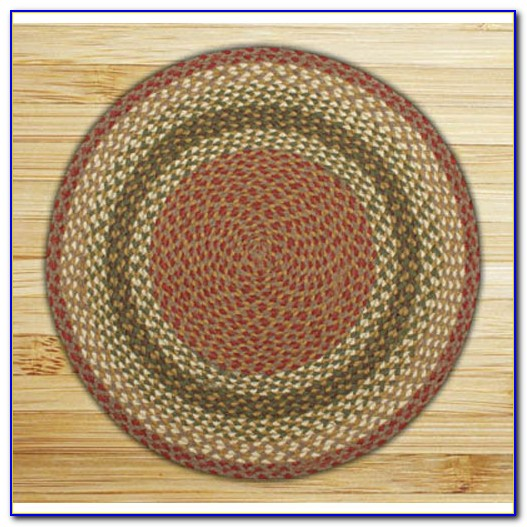 4 Foot Round Bathroom Rugs