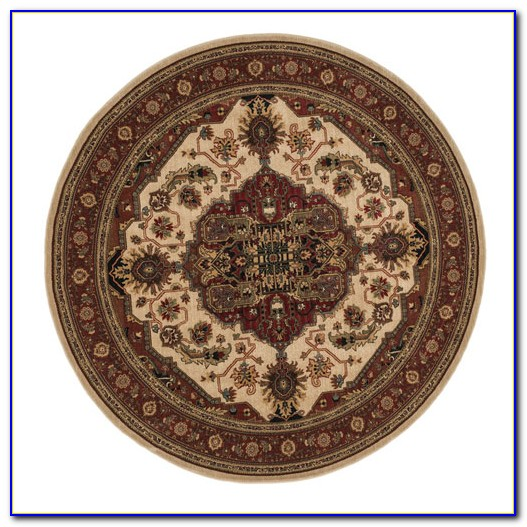 7 Ft Round Area Rugs