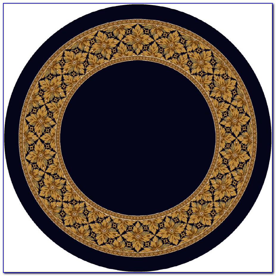 8 Ft Round Wool Area Rugs