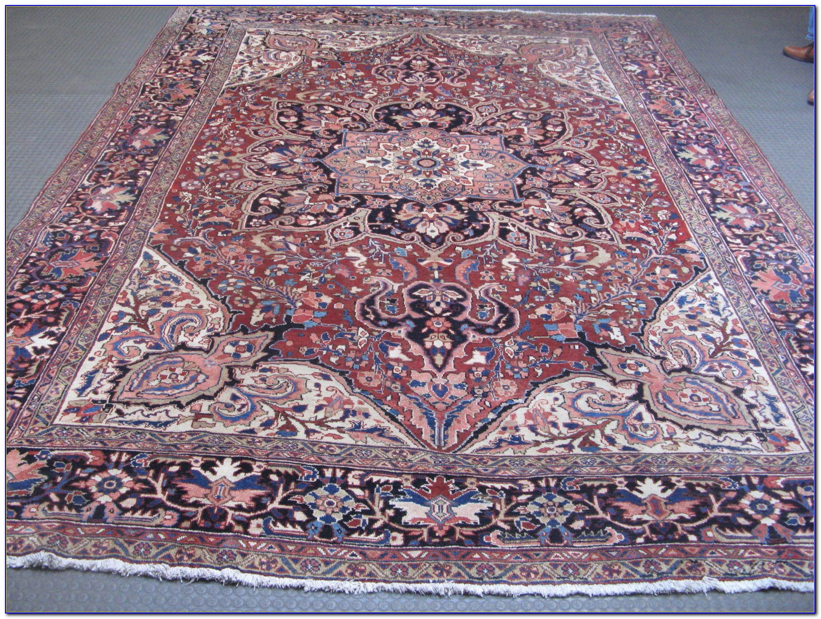Antique Hand Knotted Persian Rugs