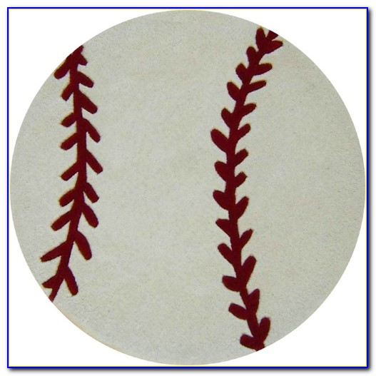 Baseball Diamond Area Rug