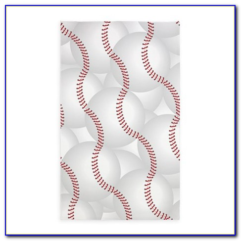 Baseball Themed Area Rugs