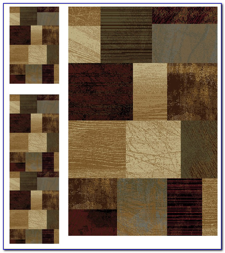 Bath Rug Sets With Runner